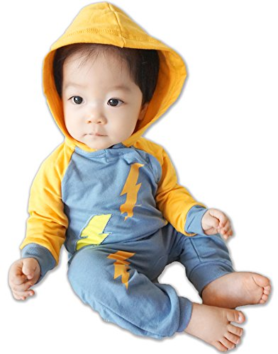 Vaenait baby - Barboteuse - Bébé (garçon) - Bleu - Large