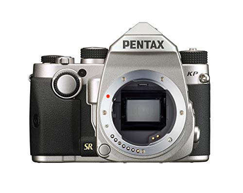 Pentax 1603700 KP (SILVER) + DA18-50RE KIT, Argento