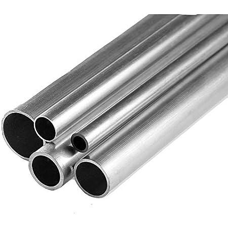 Aluminium Rundrohr AlMgSi05 /Ø 10x1mm 80cm auf Zuschnitt L/änge 800mm