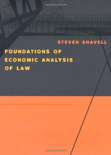 Shavell, S: Foundations of Economic Analysis of Law