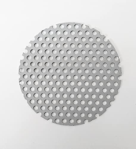 113Φ Solo Stove タイタン ロストル ソロストーブ タイタン用 電気メッキ鋼板 板厚1.6ミリ 当店オリジナル◆ハンドメイド (穴径5mm)
