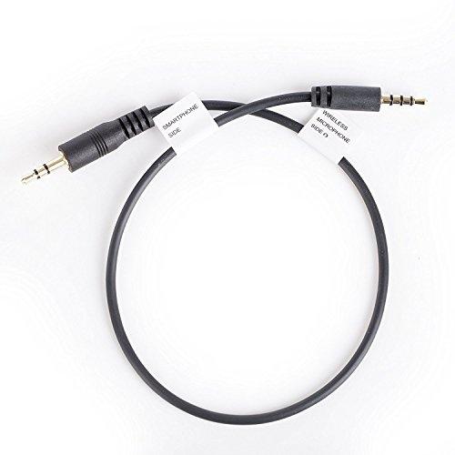 Movo CFP TRS Klinkenstecker (männlich) 3.5mm Mikrofon Eingang/Kopfhörer A TRRS (männlich), Adapter Smartphone für iPhone, iPad und Android