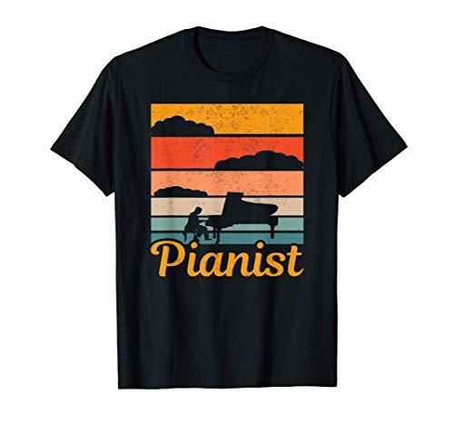 Uomo pianoforte a coda lezioni di pianoforte musica pianista Maglietta
