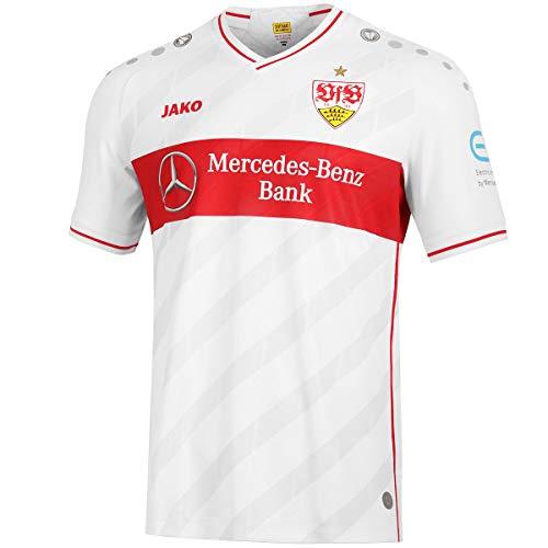 JAKO VfB Stuttgart Trikot Home 2020/2021 Herren weiß/rot, XL