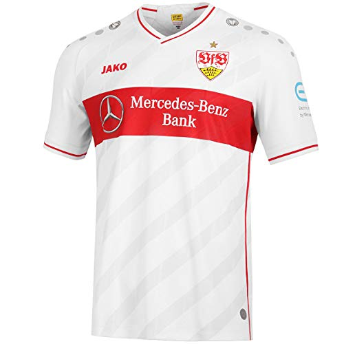 JAKO Herren VfB Stuttgart 20-21 Heim Fußballtrikot weiß XL