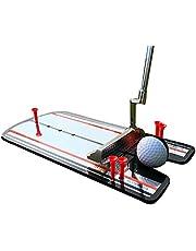 CGBF-Golf Putting Espejo Swing Straight Practice Alineación Entrenamiento Ayuda Swing Trainer Golf Poniendo Espejo Accesorios Al Aire Libre Productos