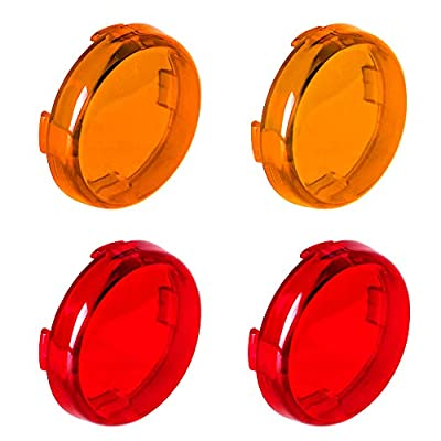 NTHREEAUTO LED Turn Signals Lens Cover by NTHREEAUTO