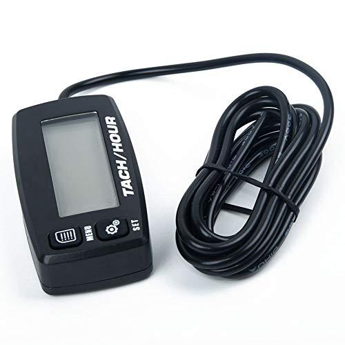 DXX-HR Tacómetro 2/4 Motores de Carrera Medición Accesorios LCD Impermeable
