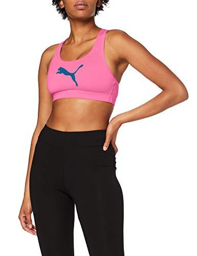PUMA Damen 4Keeps Bra M Sport BH, Luminous Pink-Cat, L