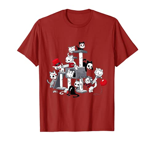 Disfraz de Halloween de asesino en serie de pelculas de terror Camiseta