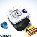 Omron HEM 6161 Fully Automatic Wrist Blood Pressure Monitor with Intellisense Technology, Cuff