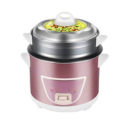 Mini cuiseur à riz antiadhésif automatique multifonctions , Cuiseur vapeur , Ragoût Operation Commande à soupe Un fonctionnement à un bouton , 3L / 4L (taille : 4L)