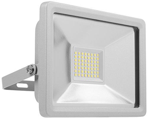 Smartwares Foco con LED, 30 W, Plateado, 20.5x9.6x19 cm