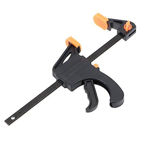iTimo DIYWORK - Abrazadera de madera con clip para carpintería, clip fijo de liberación rápida, apriete rápido para carpintería