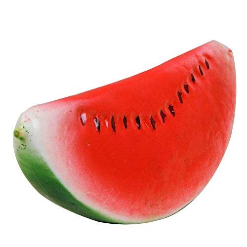 Oggettistica per la casa Vita come plastica artificiale artificiale finta frutta artigianale pera limone(Pezzo di anguria)