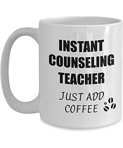 Beratungslehrer-Becher-sofortige addieren gerade Kaffee-lustige Geschenk-Idee für Mitarbeiter-anwesenden Arbeitsplatz-Witz-Büro-Tee-Schale