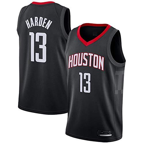 Uomo Gilet da Basket NBA Houston Rockets 13# Harden Jersey Canotte da Basket Estiva da Ricamo