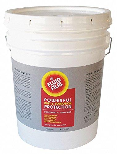 Fluid Film Corrosion Inhibitor, 5 Gal, Amber, 5 gal.