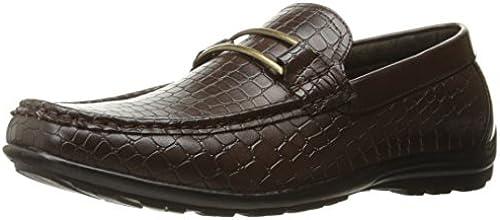 STACY ADAMS Men& 039;s 039;s 039;s Lanzo Moc Toe Bit Slip Loafer, braun, 13 M US  garantiert