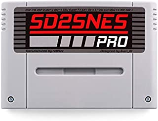 SD2SNES PRO flash cart plays all Super Nintendo games SNES Super FX and all special chips supported