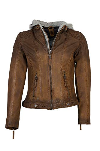 Gipsy Damen Cascha LAMOV Jacke, Braun (Antic Brown 000), Medium