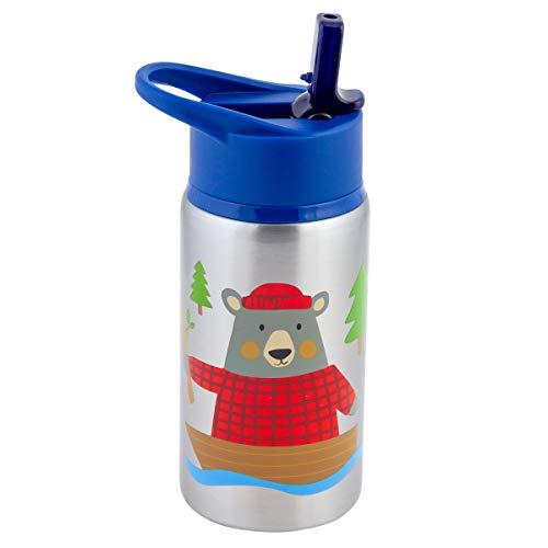 Stephen Joseph SJ117520, Bear Acero inoxidable botellas de agua
