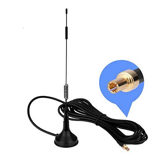 TS9 4G Antenne, LTE Antenne WiFi Signal Booster Verstärker Modem Adapter Netzwerk Empfänger / TS9 Stecker / 3m Kabel / 12 dBi Hochleistungs Gewinn (Antenne TS9)
