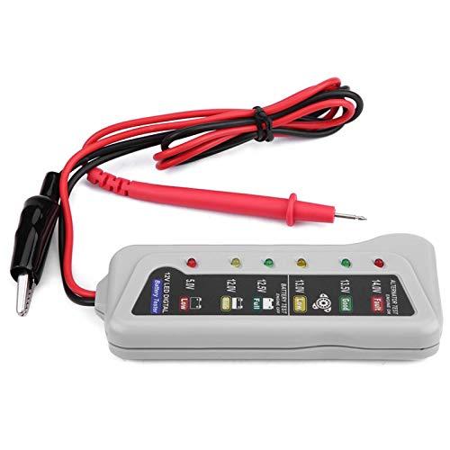 Probador de Batería, Yctze 2-14.8V Car Van Probador de Batería Automático Sistema de Cargador de Mantenimiento de Almacenamiento Herramienta de Verificación del Analizador de Plástico