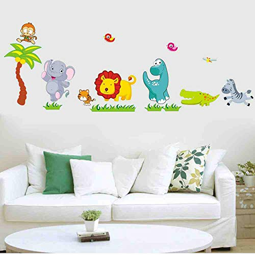 JPDP Free Shipping Three Generations Of Removable Wall Stickers Childrens Room Baby Nursery Room Decor Happy