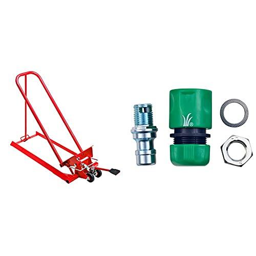Oregon Clip Lift Hebevorrichtung Kippvorrichtung hydraulisch für Rasentraktoren & Arnold universal Deckwaschdüsenkit zum Nachrüsten von Rasenmähern, Aufsitzmähern und Rasentraktoren 2024-U1-0006