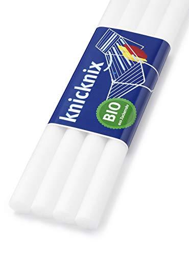 Knicknix - Wäsche ohne Glanz- oder Knickfalten | Wäsche Trocknen auf dem Wäscheständer | Bio aus Zuckerrohr | schadstoffgeprüft | 4 Rollen