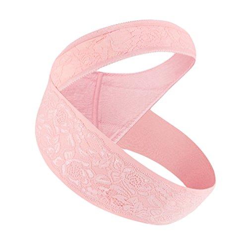 Dexinx Mutterschaft Gürtel Schwangerschaft Unterstützung Gürtel Atmungs Bauchband Einstellbare Pflege Atmungs Bauch Unterstützung Pränatale Wiege für Baby Pink L