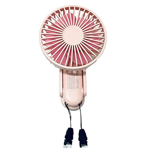 ColourQ Mini ventilador plegable de mano portátil ventilador de escritorio USB recargable personal ventilador eléctrico para adultos niños hogar oficina