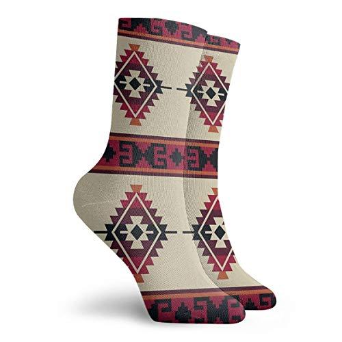 Socken Daryl Dixon Poncho Muster bedruckt Sport Athletic Socken 30 cm lang personalisierbar Geschenk Socken