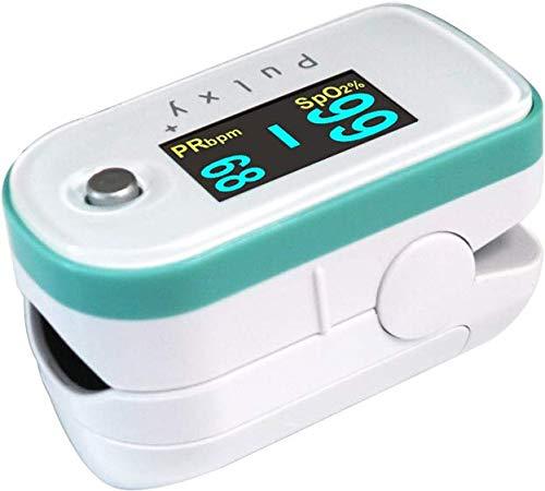 医)日本製 3年保証 パルスオキシメーター パルキシープラスEC100E(パステルグリーン)3年保証 [特定保守管理医療機器]