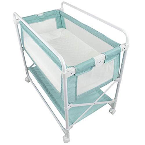 JALAL Baby Kommode Wickeltisch Krippe Klappbare Höhe Niedriges Nachtbett Multifunktionaler Pflegetisch Babymassagetisch