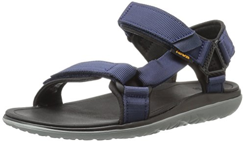 Teva Teva Herren Terra-Float Univ 2.0 Sandale, Blau (Navy Solid), 42 EU