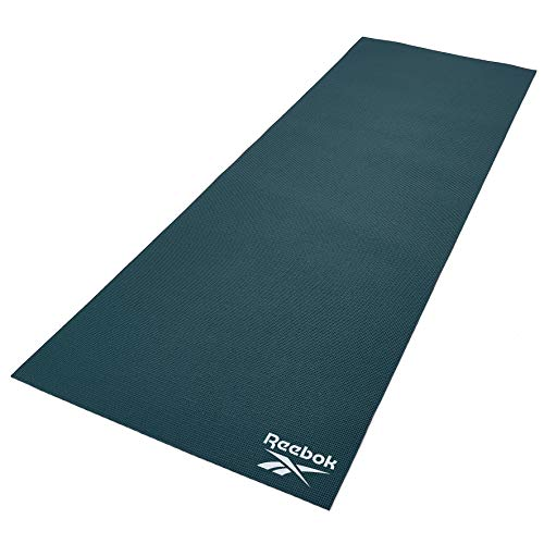 Reebok Yoga Mat, Dark Green, 4mm