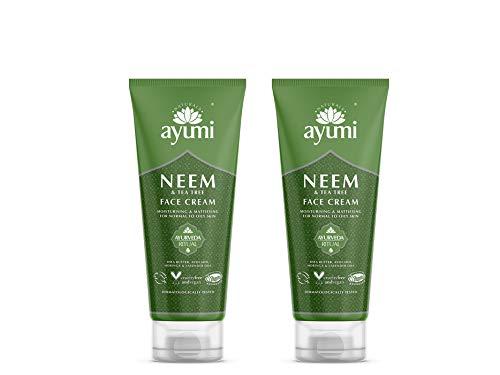 Ayumi Neem & Tea Tree Face Cream 2 x 100ml