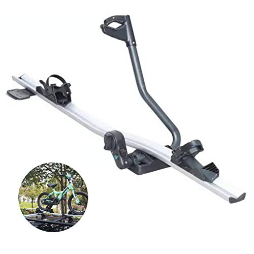 YYDE Estante de la Bici, Estante de la aleación de Aluminio del Techo, Bicicleta de Enganche y el neumático de Repuesto de Coches para Montaje en Rack, para SUV y Coches, para 1 Moto