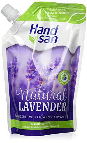 Handsan Flüssigseife Nachfüllpackung Lavendel, 6er Pack (6 x 300 ml)