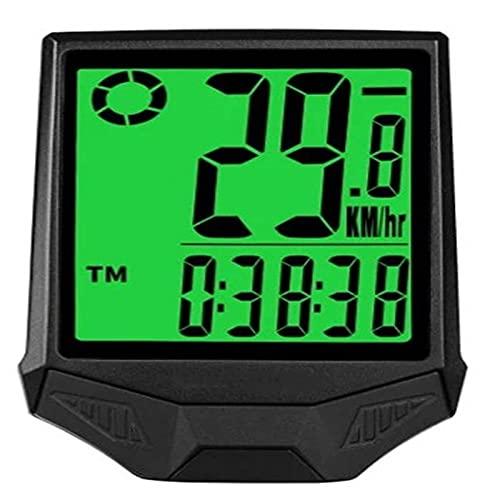 Ordenador De Ciclismo Con GPS Computadora De Bicicleta Velocímetro Inalámbrico ODómetro A Prueba De Agua LCD Retroiluminación Ciclismo MTB Bicicleta Computadora CronómetroPortátil Para Escalada