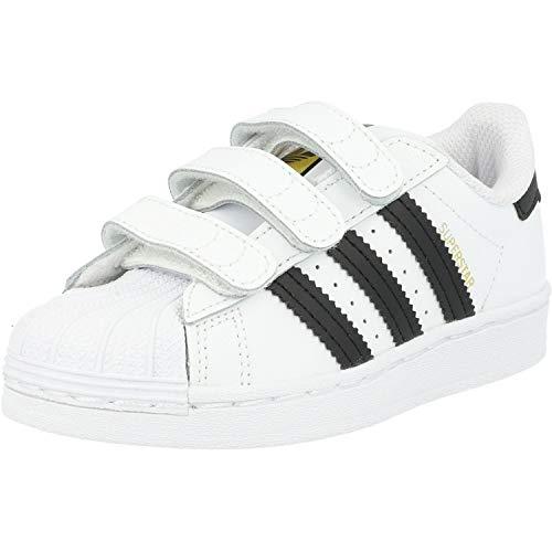 adidas Superstar CF, Sneaker, Footwear White/Core Black/Footwear White, 35 EU