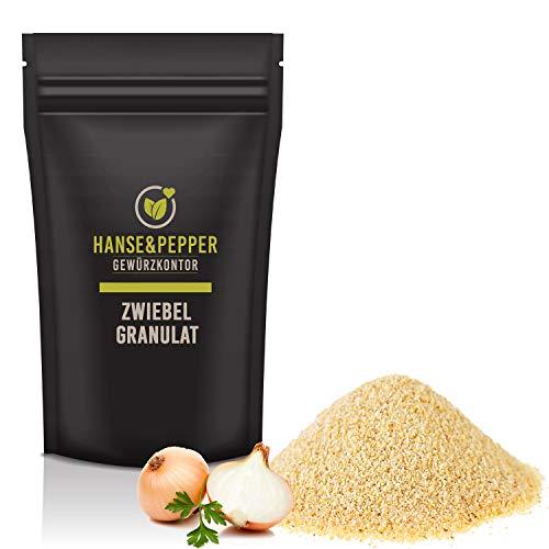 500g Zwiebel Granulat Vegan lieblich aromatisch natürlich vom Hanse&Pepper Gewürzkontor - Gourmet Serie