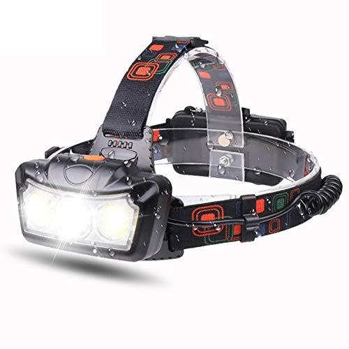 JTYX Faros LED ultrabrillantes 30000 lúmenes Faros Delanteros de 4 Modos Linterna de Cabeza Linterna Luz de Cabeza Lámpara de Cabeza de antorcha de Cabeza Impermeable súper Brillante