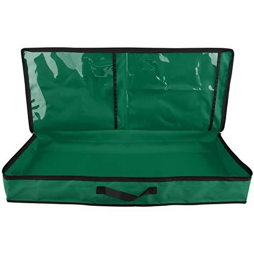 MOOVGTP - Borsa per carta da regalo, per nastri, fiocchi, biglietti, involucri, 78,5 x 34 x 11 cm