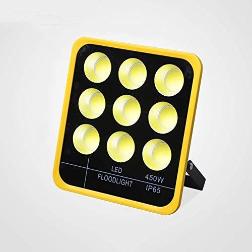 Rectángulo Luz de inundación LED de ultra alto brillo 450W IP65 Impermeable Impermeable Proyector al aire libre Parque Iluminación del paisaje Luz de inundación Ajustable 80mm Luz de inundación LED
