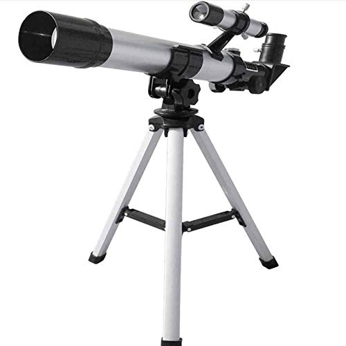 GAXQFEI Telescopio Astronómico Del Refractor de Espacio con Trípode Portátil, Juguetes Educativos, Telescopios Monoculares para Adultos Profesionales O Niños