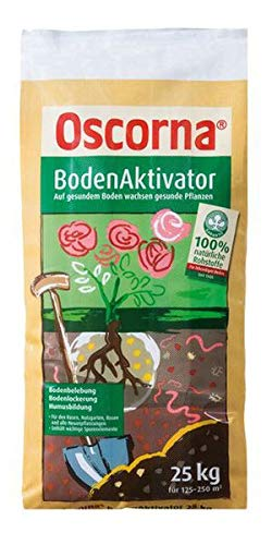 Oscorna BodenAktivator 25 kg - Aktiviert das Bodenleben. Lockert und verbessert die Krümelstruktur.