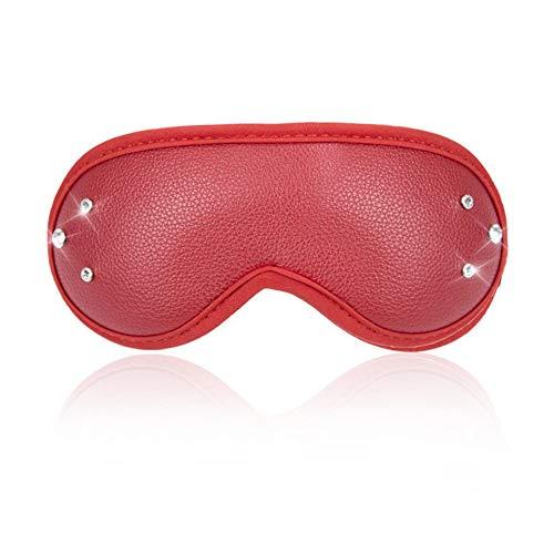 2-delige Adult Flirting Eye Toy Mask Diamond Ring Supplies,2 pcs